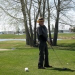 One of our dedicated golfers 95 years young