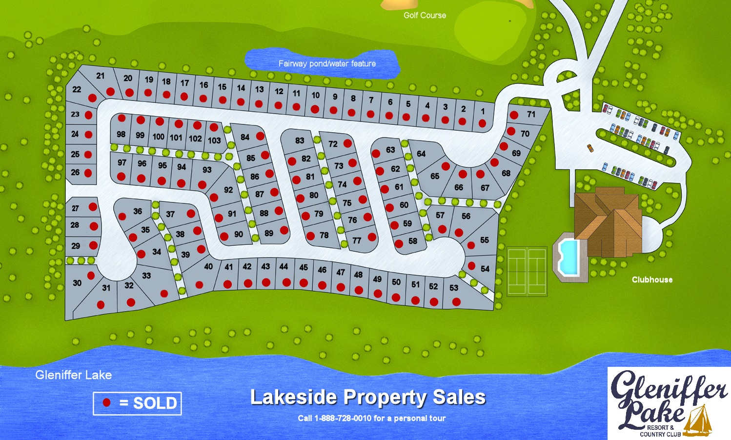 Phase 7 Property Sales Available Lots